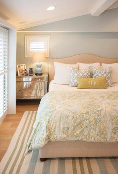 coastal bedroom | AGK Design Studio