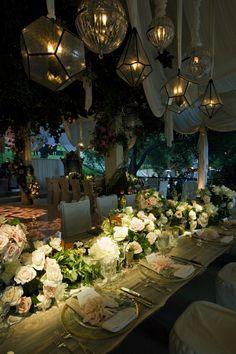 Beautiful garden party