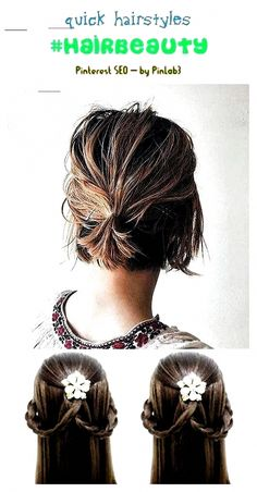 Quick hairstyles #hairbeauty #womensstyle. hairstyles for medium length hair, easy hairstyles, hairstyles for school, prom hairstyles, wedding hairstyles, short hairstyles, braided hairstyles, hairstyles long, curly hairstyles, hairstyles for round faces, hairstyles for black women, formal hairstyles, everyday hairstyles, cute hairstyles, ponytail hairstyles, hairstyles videos, boho hairstyles, straight hairstyles, simple hairstyles, hairstyles step by ste #SimpleElegantHairstyles Boho Hairstyles, Quick Hairstyles, Hairstyles For School, Everyday Hairstyles, Formal Hairstyles, Straight Hairstyles, Hairstyles Videos, Wedding Hairstyles, Ponytail Hairstyles