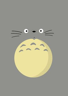 Totoro, from となりのトトロ (Tonari no Totoro a. My Neighbor Totoro) Cute Wallpapers, Kawaii, Totoro, Animation, Art, Anime, Anime Movies, Manga, Prints