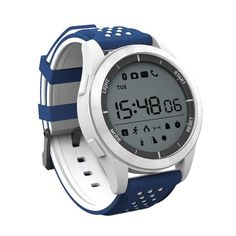 Smart Watch Sport Pedometer Fitness Tracker Activity Tracker SOONHUA Professional Waterproof Bluetooth Sport Smartwatch for Android and iOS Smartphones White Sport Watches, Cool Watches, Watches For Men, Wrist Watches, Fitness Tracker App, Android Watch, Wearable Device, Smart Bracelet, Bracelet Watch