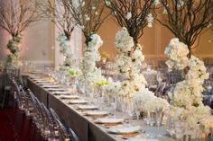 Glamorous White Texas Event From Emily Clarke Events