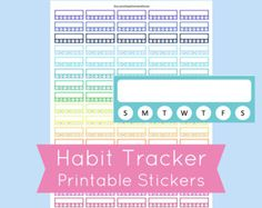 Printable Planner Stickers to use with your Erin Condren Life Planner
