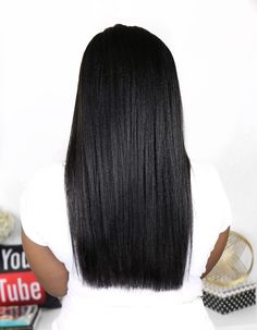 Hairlicious Inc. Relaxed Hair Regimen, Natural Hair Regimen, Natural Hair Growth, Natural Hair Styles, Healthy Relaxed Hair, Healthy Hair, Eating Healthy, Modern Hairstyles, Diy Hairstyles