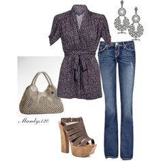 Grey, created by mandys120 on Polyvore