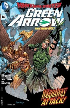 Green Arrow #14 #GreenArrow #New52 #DC
