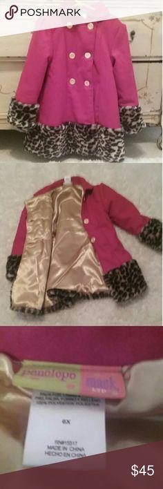 Girl's dress coat Penelope Mack adorable dress coat in excellent condition Penelope Mack  Jackets & Coats Pea Coats