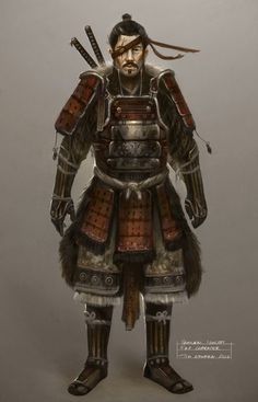 Another Samurai Concept by ~TomEdwardsConcepts on deviantART