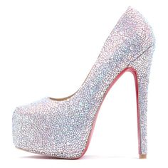 Sparkle heels ♥ I bet you would love to wear these - Enjoy with love from http://www.shop.embiotechsolutions.co.uk/AquaFresh-EM-Ceramics-Water-Butt-Treatment-250g-AquaFresh250.htm