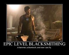 Epic Level Blacksmithing