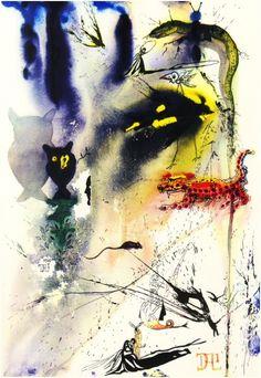 Salvador DALI Alice in Wonderland 5