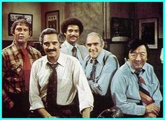 70's TV shows - Barney Miller. Awesome funny show but also addressed real problems & issues
