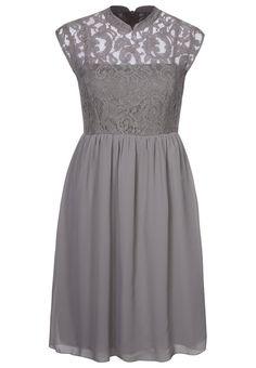#grey #lace #dress #grigio #pizzo