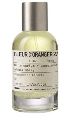 Lotion, candles, and perfuming oil in Fleur D'oranger from Le Labo