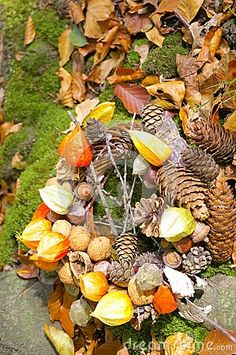 Autumn still-life usable as writing paper etc.