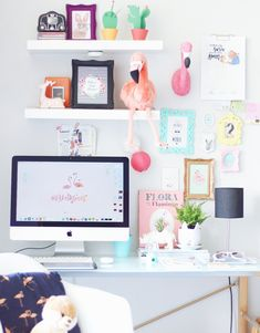 home office,home office desk,home office ideas Amazing Home Office Ideas for your Inspiration. Whether you run a industry from home, have the flexibility Office Inspiration, Office Ideas, Office Workspace, Home Office Decor, New Room, Girls Bedroom, Room Decor, Decoration, Design Diy