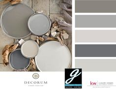Love Gray?  Then you'll love these shades of gray to inspire your homes look.