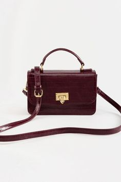 Sophie Top Handle Crossbody Handbag Buy Bags, Slip On Sneakers, Cross Body Handbags, Burgundy, Shoulder Bag, Popular, My Style, Handle, Stuff To Buy