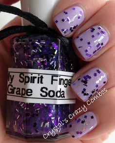 Crystal's Crazy Combos: My Spirit Fingers - Grape Soda