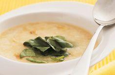 Receita de Receita de Sopa de alho com agri�o