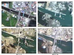 It's been a year since the huge earthquake and tsunami struck Japan, and Google has released fresh imagery to show the recovery made by Japan over the past 12 months.