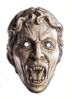 Weeping Angel Face Mask - oh man I need a couple of these...