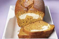 Layered Pumpkin Loaf recipe ... looks delicious and doesn't call for any lard!