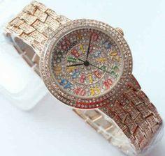 Jam Tangan Chanel Rose Gold Full Diamond Merupakan Jam Tangan Untuk Wanita  yang Hadir Dengan Menawarkan Body yang Simpel dan Dinamis 5e45d9fab3