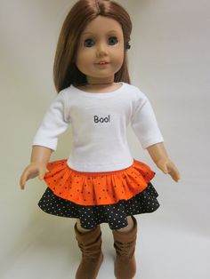 Halloween Trick or Treat Outfit 18 inch by IndustriousDog