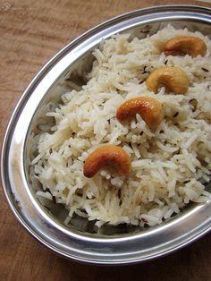 Ryza s rimskou rascou (Jeera rice)