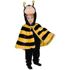 Dress up #america #little #honey bee costume cape set 12-24 months,  View more on the LINK: 	http://www.zeppy.io/product/gb/2/191972587584/