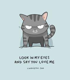 Funny Cat Puns Lingvistov Landysh Akhmetzyanova animals illustration drawing doodles art design calendars print product