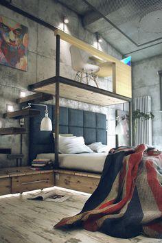 Fantastic Man Cafe Loft Design! The Lavish Society