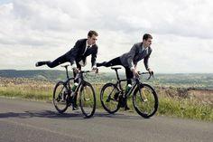 Alistair Brownlee & Jonathan Brownlee triathlete champions shot by Jonathan Glyn-Smith