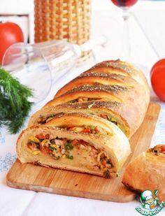 Батон-рулет для пикника - кулинарный рецепт