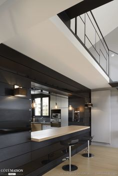 faux plafond cuisine cuisine pinterest cuisine. Black Bedroom Furniture Sets. Home Design Ideas