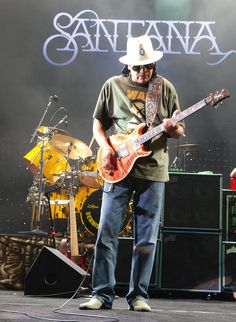 Carlos Santana. One of the undisputed guitar gods.