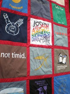 Maiden Jane: Customer T-Shirt Quilt