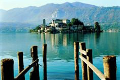 Located in northern Italy, Lake Orta was formerly known as  Lago di San Giulio, after Saint Julius who is the patron saint of the region. It is known for its beauty, history and Romanesque and Baroque architecture.