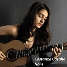 """""""The tracks on this CD were recorded in December 2013, when I was 19 years old, in a home studio I set up in my hometown Milan. As well as a Tango by Francisco Tarrega, guitar transcriptions of music by Astor Piazzolla and the Allemande from the Lute Suite in E minor by J.S. Bach, I decided to include two of my own compositions"""" Costanza"""