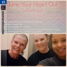 Love this #bootycall checkin from @xiomaralinnette @allison_putnam & Amy 💪. An early morning sweat session with a buddy is a great way to start the day! Who else did the Jump Your  Heart Out workout? 🍁😊💕#friskyfall #tiuteam  bootycall,friskyfall,tiuteam Best At Home Workout, At Home Workouts, Morning Sweats, 30 Minute Workout, Workout For Flat Stomach, Start The Day, Female Fitness, Fitness Workouts, Early Morning