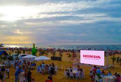 Atardecer en las #carrerasdesanlucar #ilovehorses #verano2015 #sur #playa #ambiente #audiovisuales #digitalsignage #tecnología #innovation