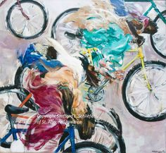 Street Race | Experience Jamaique Contemporary Artists, Jamaica, Experience, Racing, Fine Art, Street, Gallery, Painting, Running