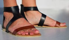 Goddess Leather Sandals  Womens Shoes  Any Colors  All by SHUNAMI, $50.00
