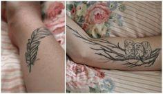 ..#owl arm tattoo #feather arm tattoo
