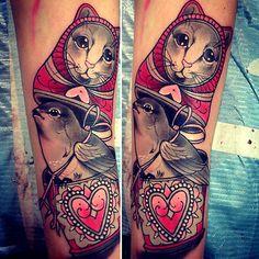 Tattoo done by Tiny Miss Becca