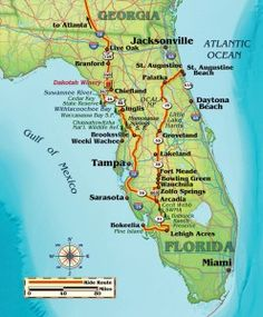 Relaxed Riding on the Sunshine State's Bridges and Backroads- Relaxed Riding on the Sunshine State's Bridges and Backroads – Florida motorcycle route map - Motorcycle Travel, Motorcycle Touring, Girl Motorcycle, Motorcycle Quotes, Florida Travel, Miami Florida, Central Florida, Touring Motorcycles, Triumph Motorcycles
