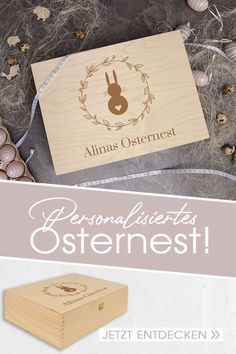 Holzkisten im Erwin Müller Online-Shop Place Cards, Place Card Holders, Presents For Mum, Childrens Gifts, Wooden Crates, Wrapping Gifts, Easter Activities