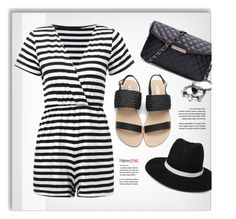 NEWCHIC.com by monmondefou on Polyvore featuring polyvore fashion style LE3NO clothing