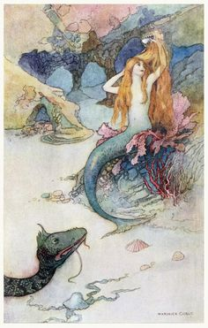 oldbookillustrations:  And I should look like a fountain of gold.  Warwick Goble, from The book of fairy poetry, by Dora Owen, London, NewYork, 1920.  A zip file containing the illustrations of the latest series can be downloaded at this link.  (Source: archive.org)